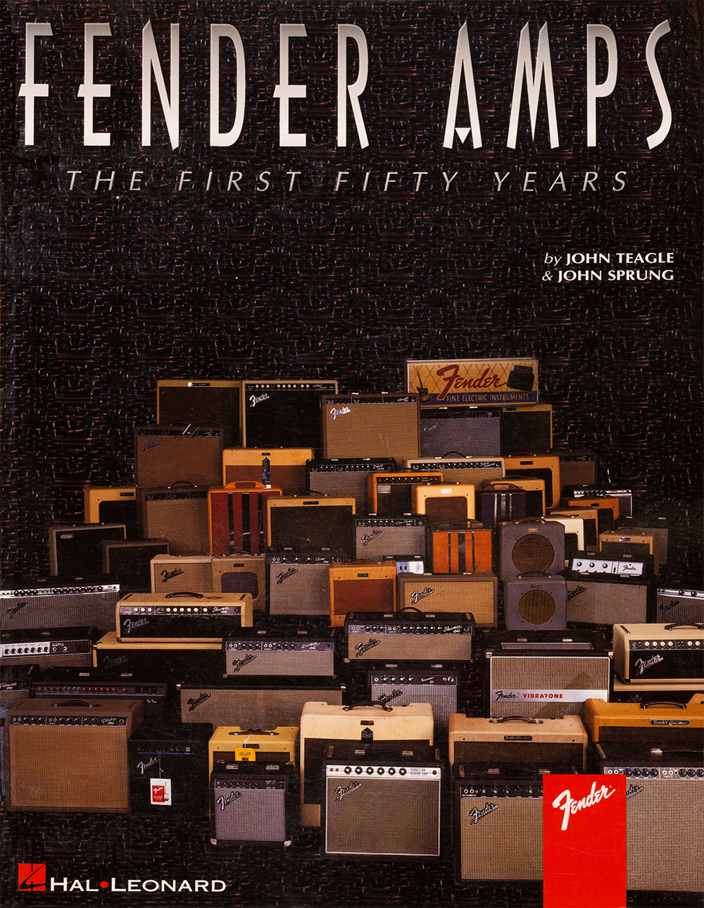 fender amps, the first 50 years, by john teagle, john sprung