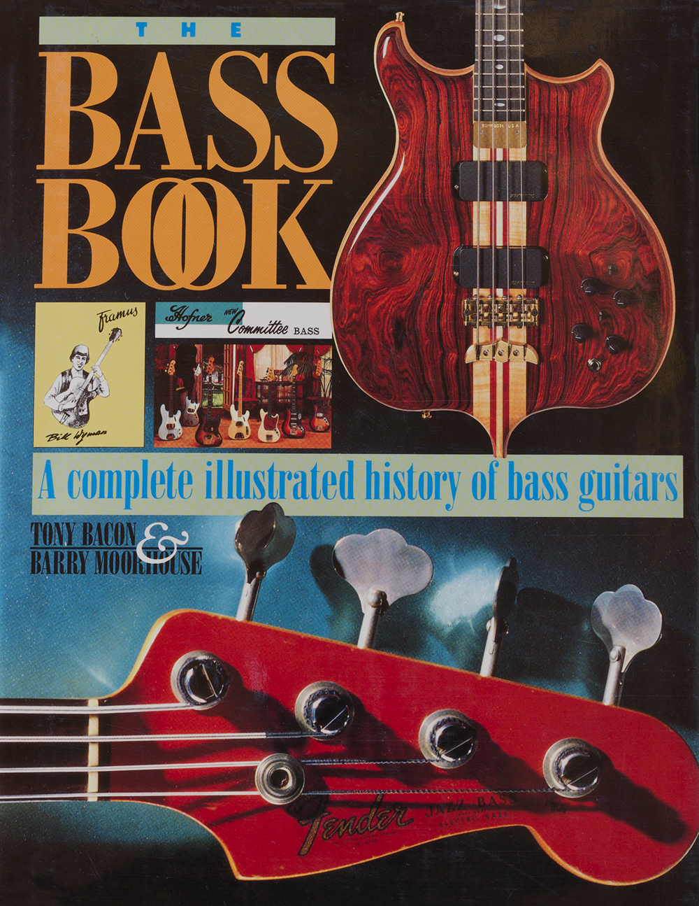 the bass book, by tony bacon, barry moorhouse
