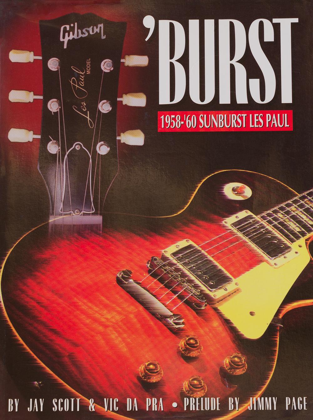 'burst, 1958-60 sunburst les paul, by vic dapra, jay scott