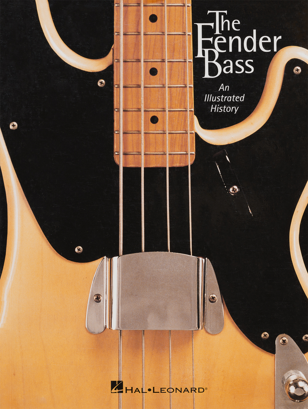 I co-authored the Fender Bass book with my friend, premiere guitar luthier J.W. Black, which was published in 2001