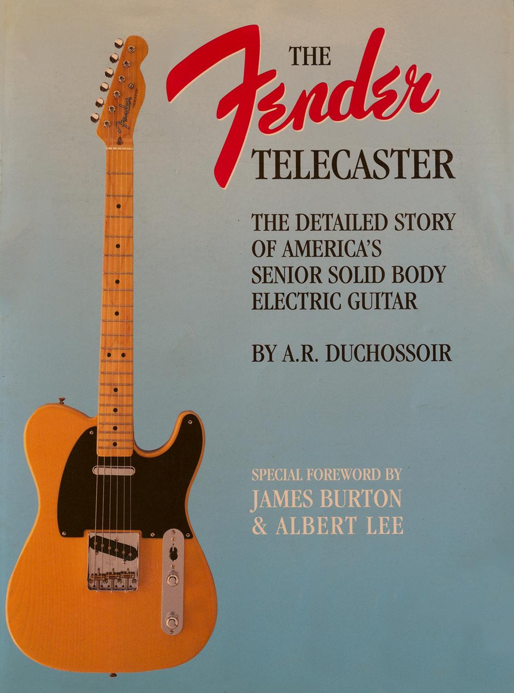 fender telecaster, by andre duchossoir