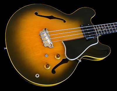 1960 EB-2, Argentine Gray Sunburst, VERY Rare to find on a Bass