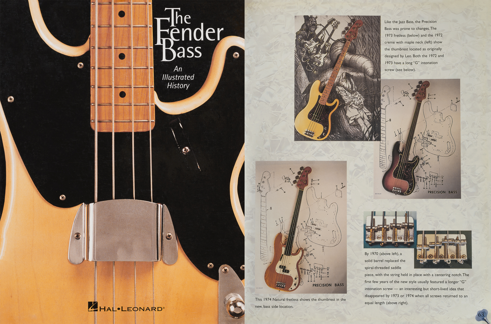This Natural Fretless bass appears in my Published Fender Bass Book on page 63