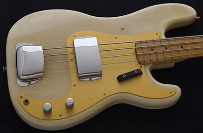 1959 Precision Bass, Blonde over Ash