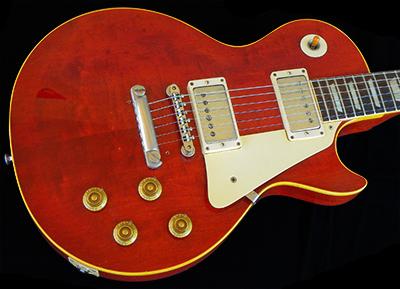 1958 LP Standard, CHERRY RED, 2-Piece center-seam Top