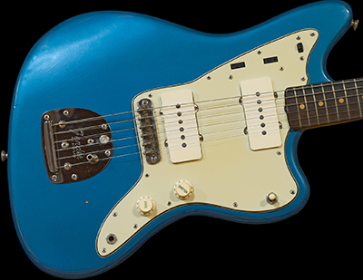 1963 Jazzmaster, Lake Placid Blue (unfaded) w/Matching Headstock