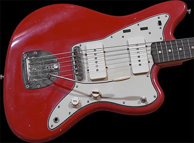 1961 Jazzmaster, Fiesta Red, Slab Neck