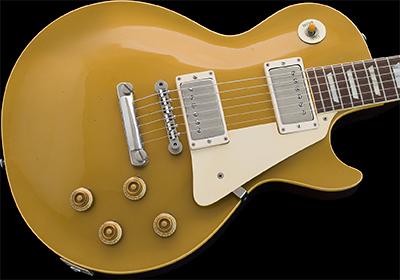 1958 Les Paul Standard, Gold Top (Maple Top)