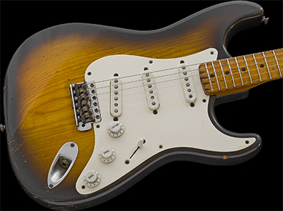 1954 Stratocaster, 2-Tone Sunburst over Ash
