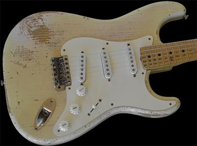 1957 Stratocaster, Blonde over Ash