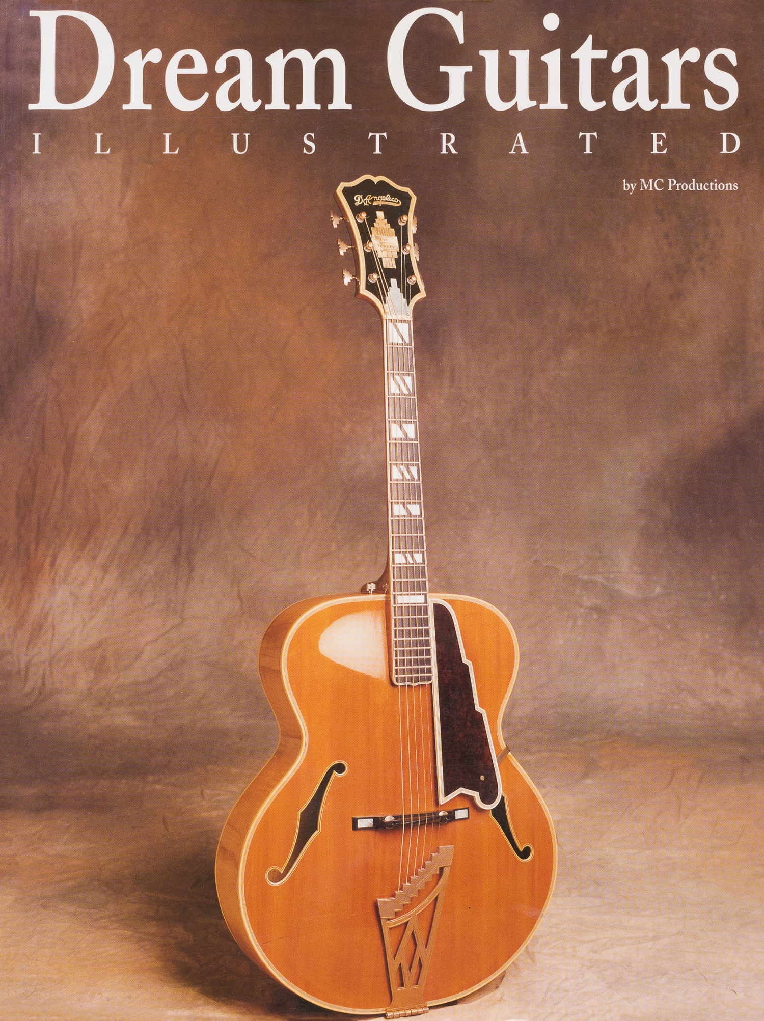 dream guitars illustrated by charles cellavalle features 13 of my collection instruments.