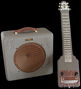 1945 K&F SET, A Crisp example of Leo's first guitar and amp products