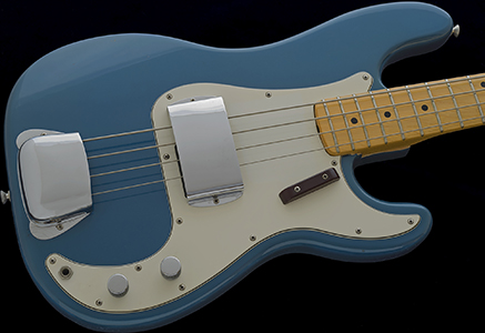 1972 Precision Bass, Lake Placid Blue