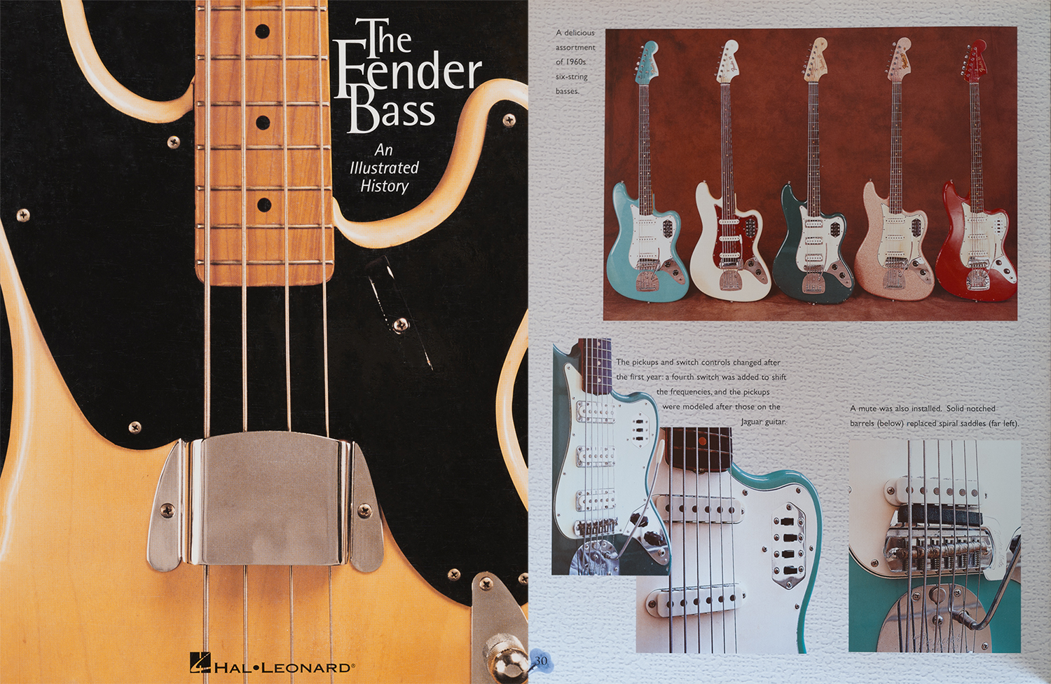 The Foam Green bass has also been published in my Fender Bass book on pg. 30, along with an equally rare SHERWOOD Green example which I also plan to display in the museum when time permits.