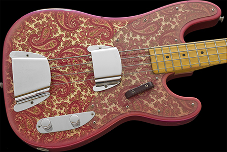1969 Telecaster Bass Paisley, Clean & not cracked