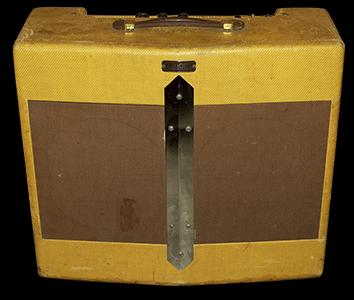 1949 Fender V-FRONT SUPER Amp with Original dated Speakers