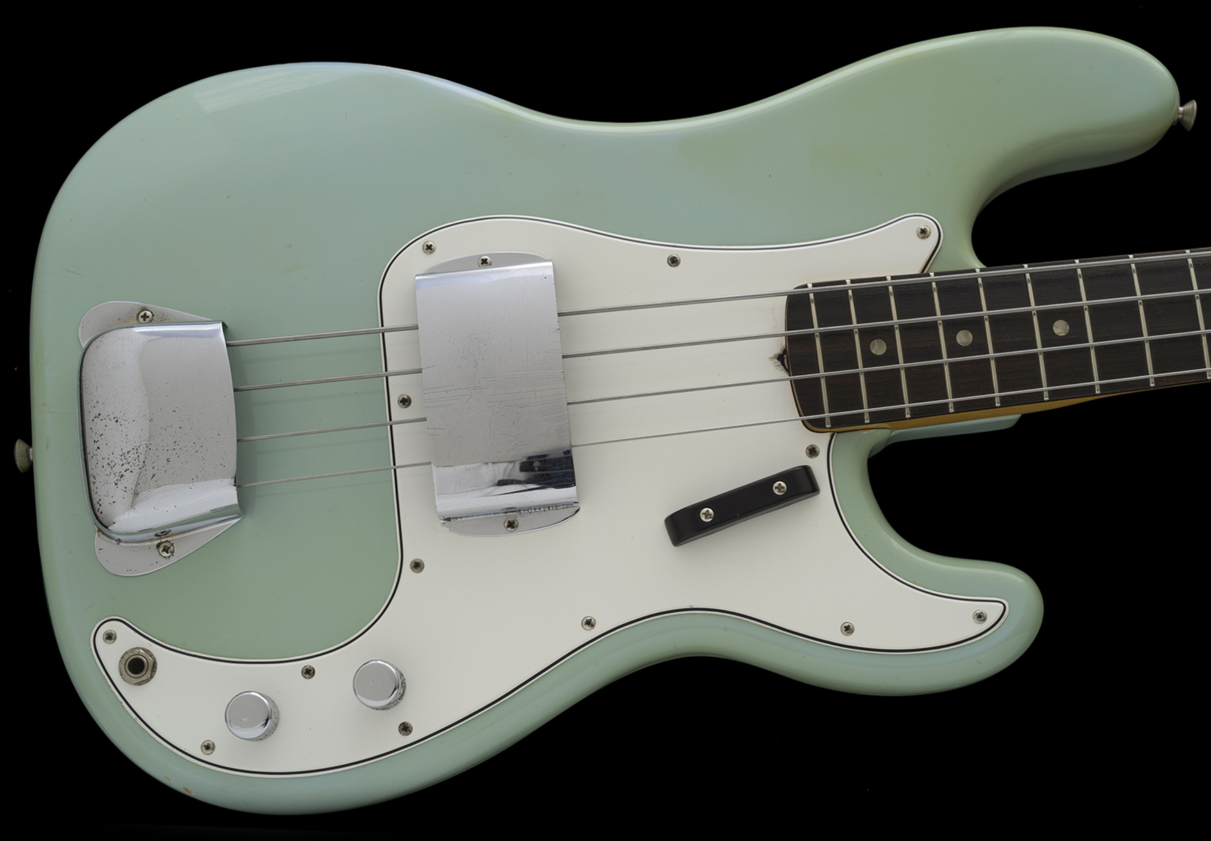 1966 Precision Bass, SONIC BLUE Duco finish, Very Nice