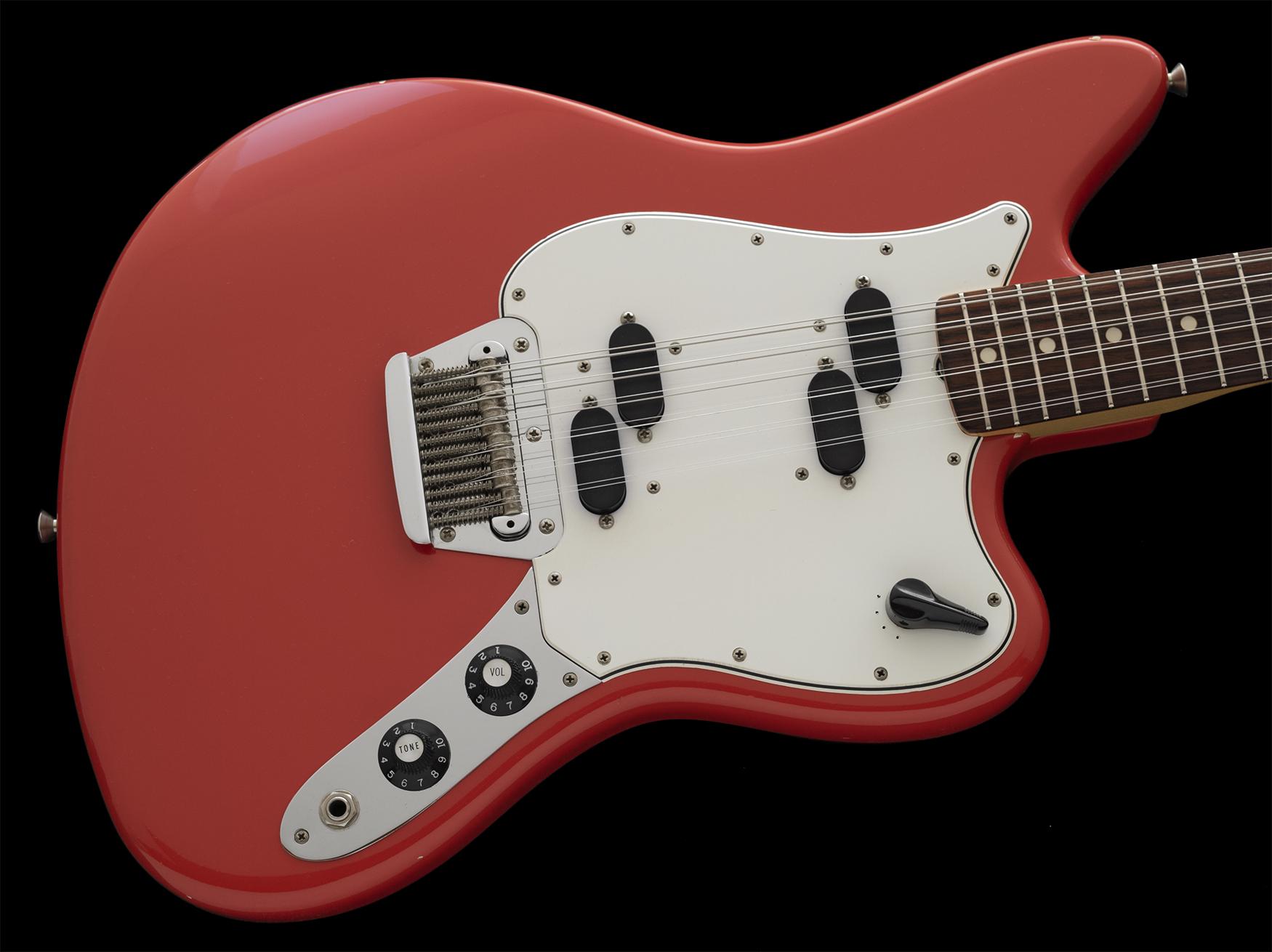 1966 Fender XII, Fiesta Red, Beautiful Example