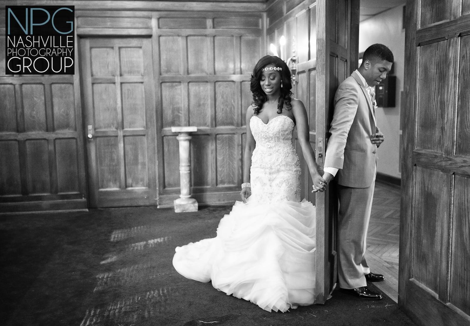 TaCara & DeAngelo Harris wedding Scarritt Bennett - Nashville wedding photography