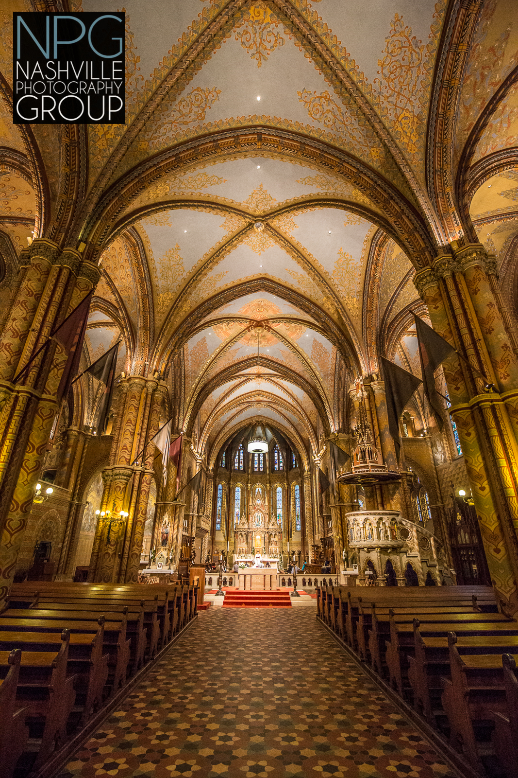St. Matthais Cathedral in Budapest, Hungary - Nashville Photography Group