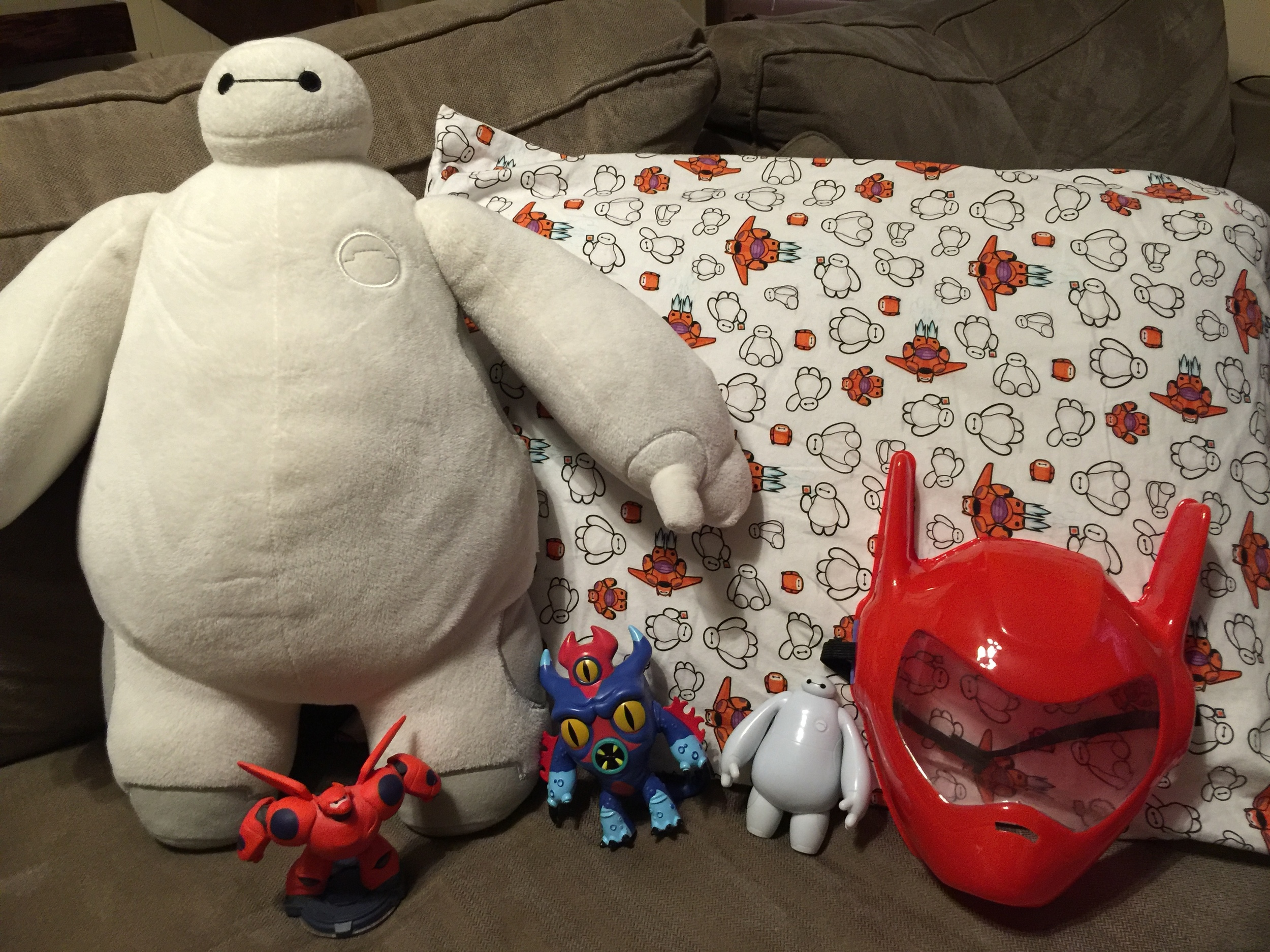 A partial collection of Penelope's Big Hero 6 stuff