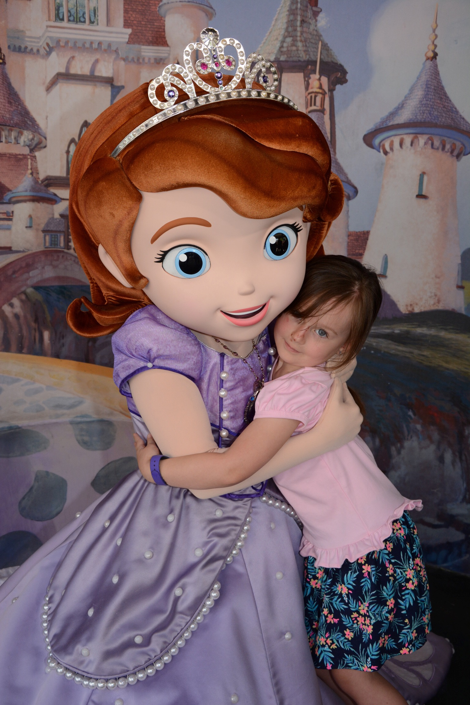 Penelope and Princess Sofia