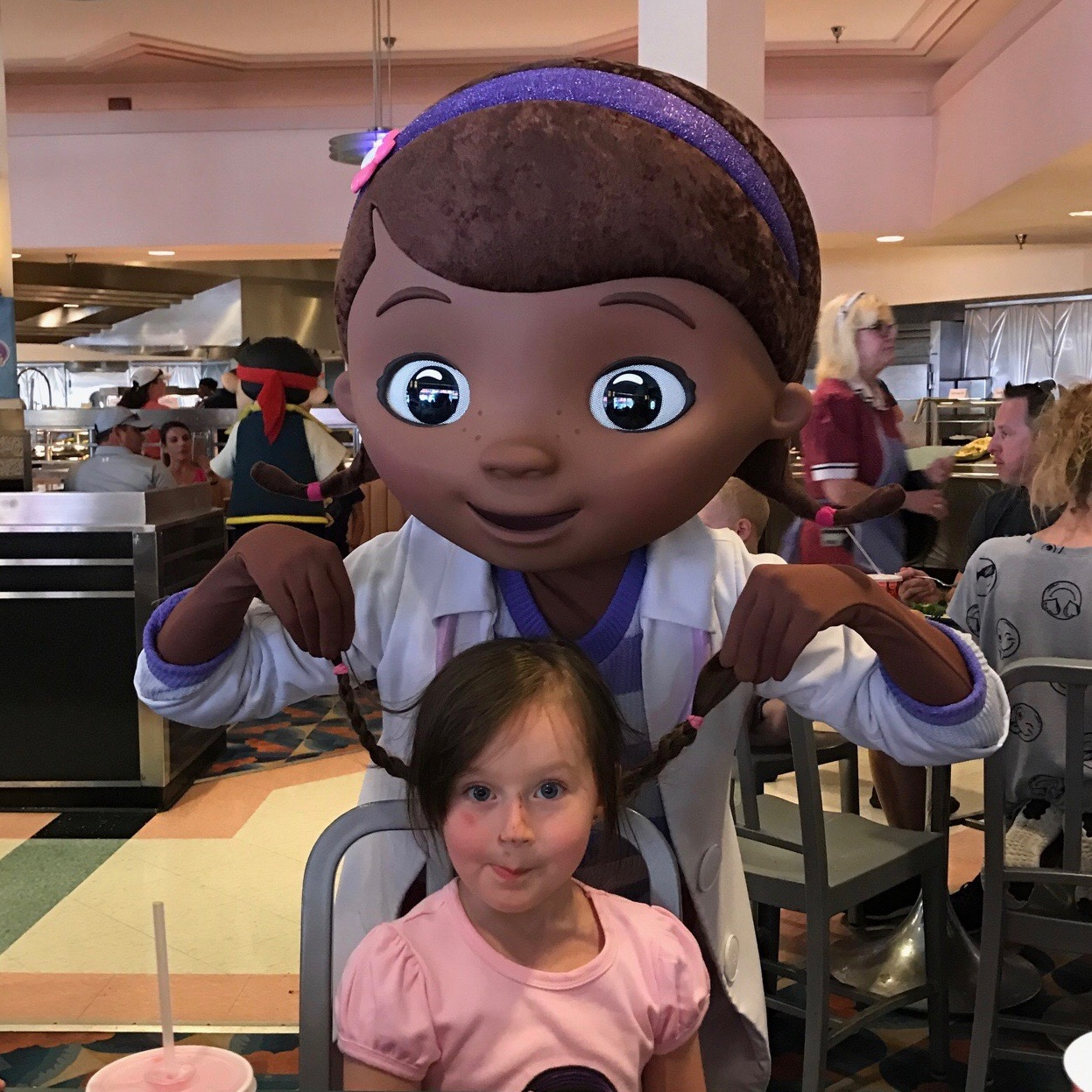 Penelope and Doc McStuffins