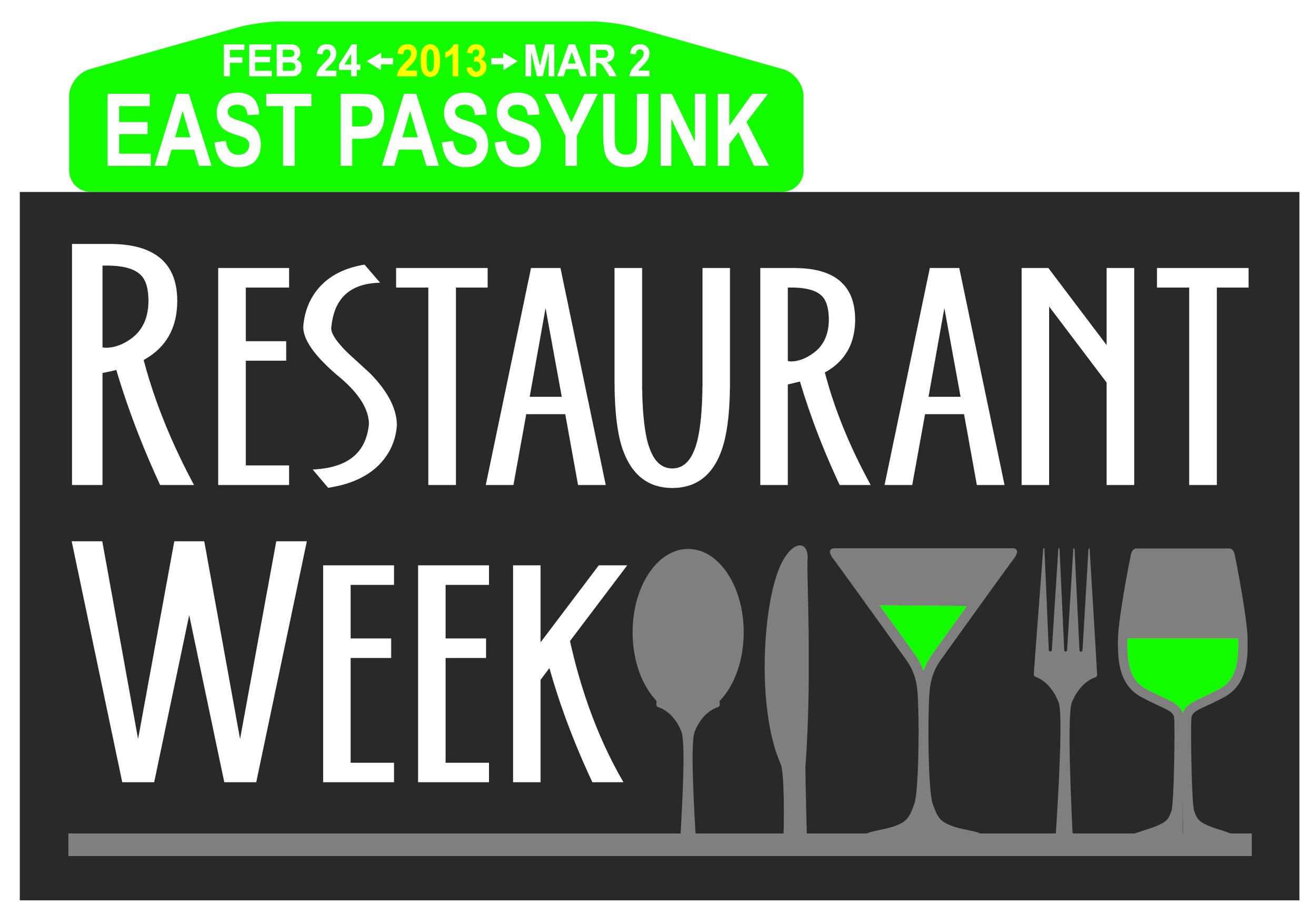 East Passyunk Avenue BID partnered with Aversa PR to develop branding for it's first Restaurant Week.