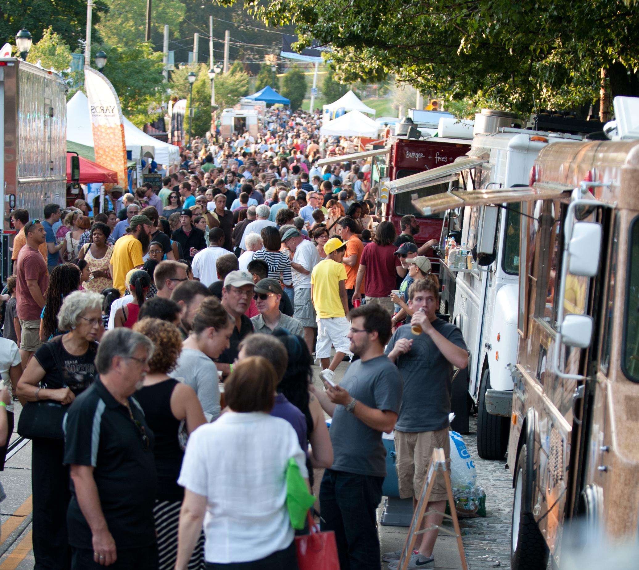 Street Fare Food Truck Festival in Mt. Airy