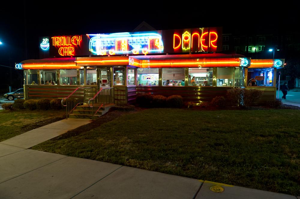 Trolley Car Diner, Mt. Airy, Street Fare, Sip Savor Stroll