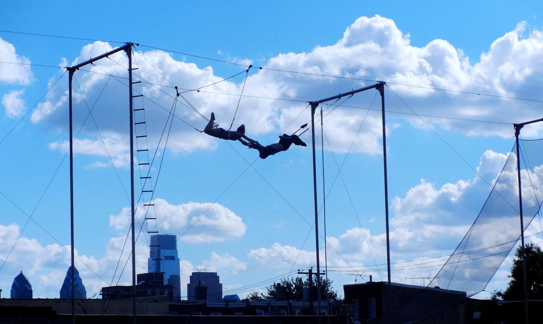 Fly School Circus Arts, Flying Trapeze, Philadelphia