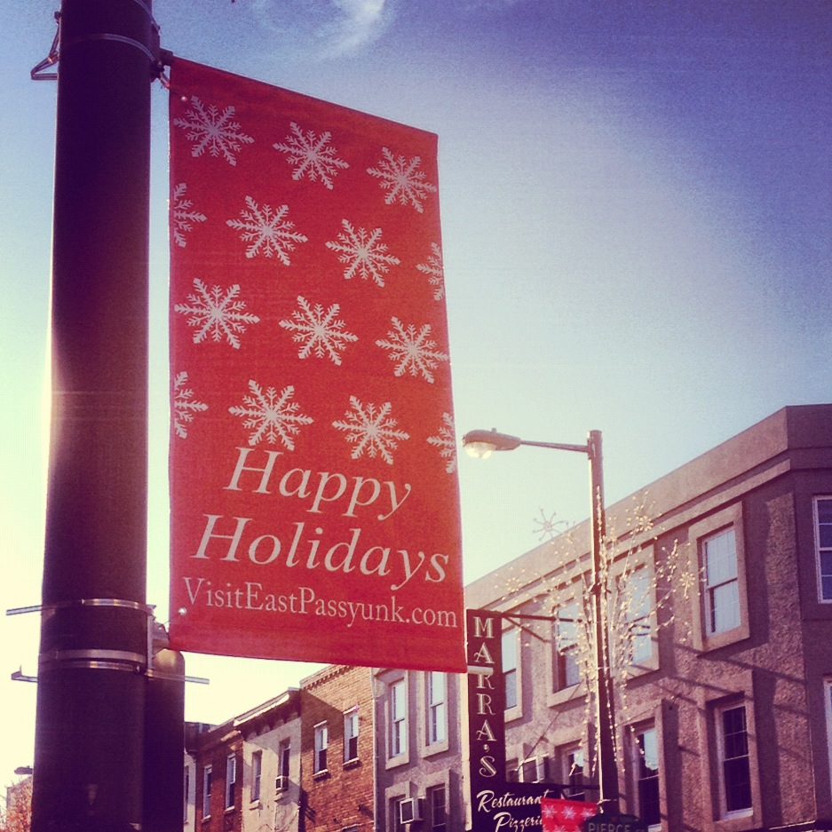 East Passyunk Deck the Ave Holiday Campaign