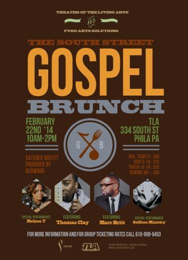 South Street Gospel Brunch