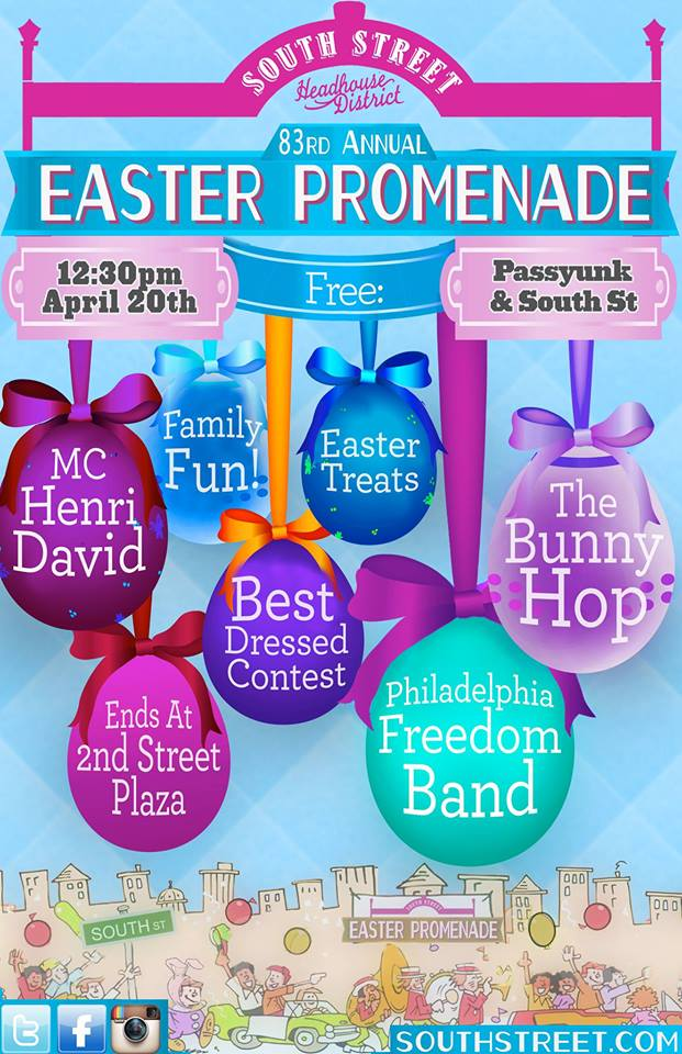South Street, South Street Headhouse District, Easter Promenade, Easter Parade, Philadelphia