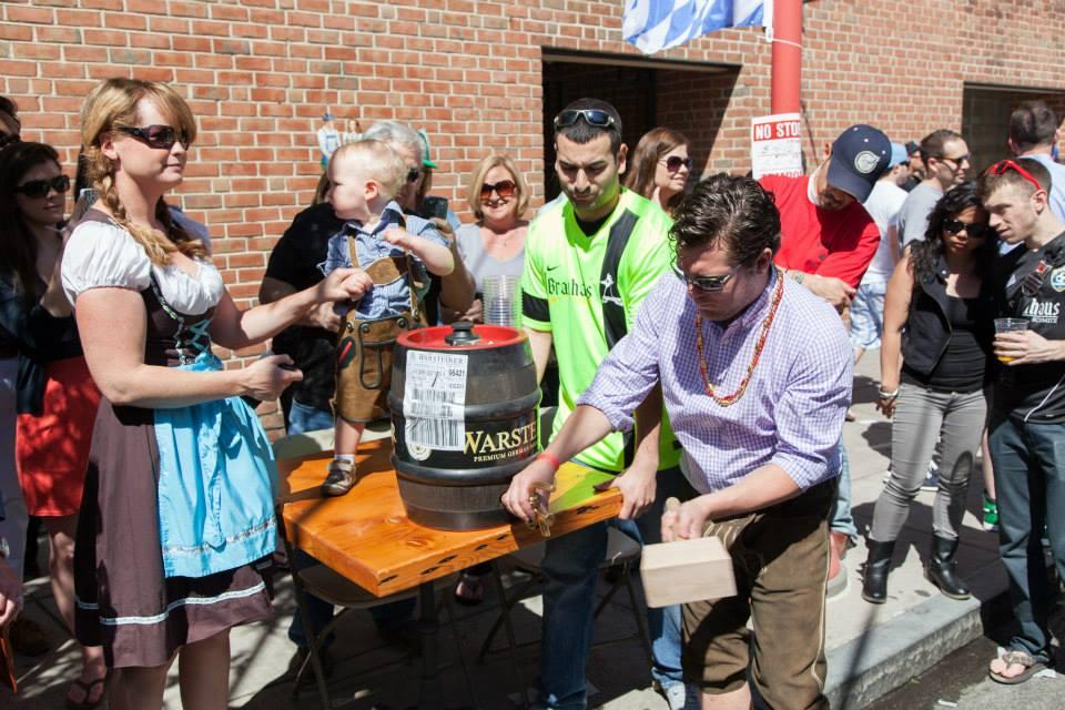 South Street Spring Fest, South Street, Spring Festival Philadelphia, Maifest, Brauhaus Schmitz
