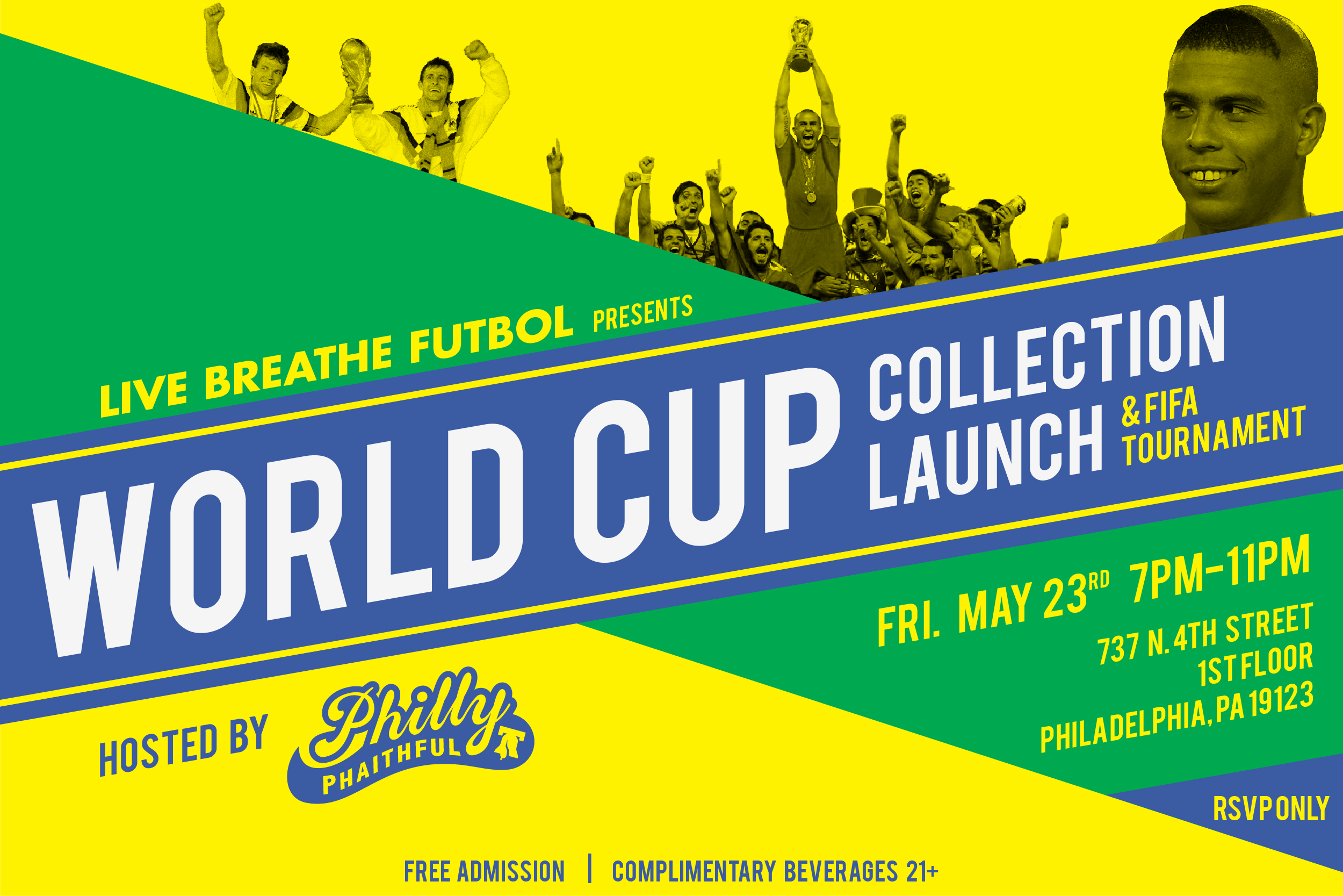 Philly Phaithful, World Cup, Collection, Live Breathe Futbol