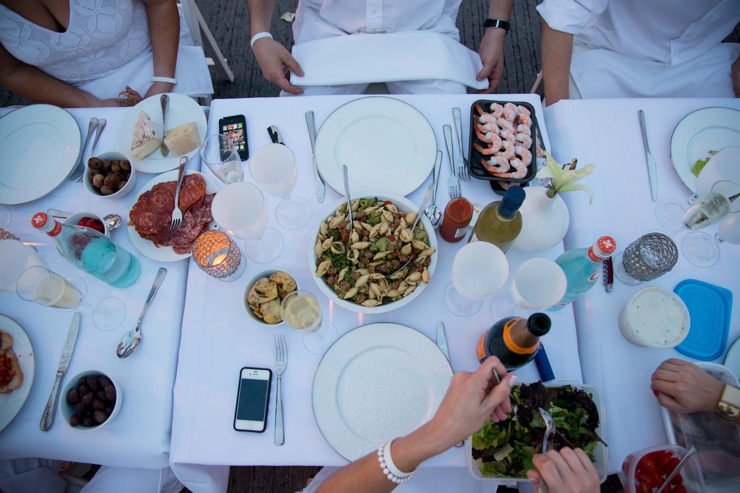 Diner en Blanc, Philadelphia, Aversa PR, Philadelphia PR, Party of the Year, Best of Philly