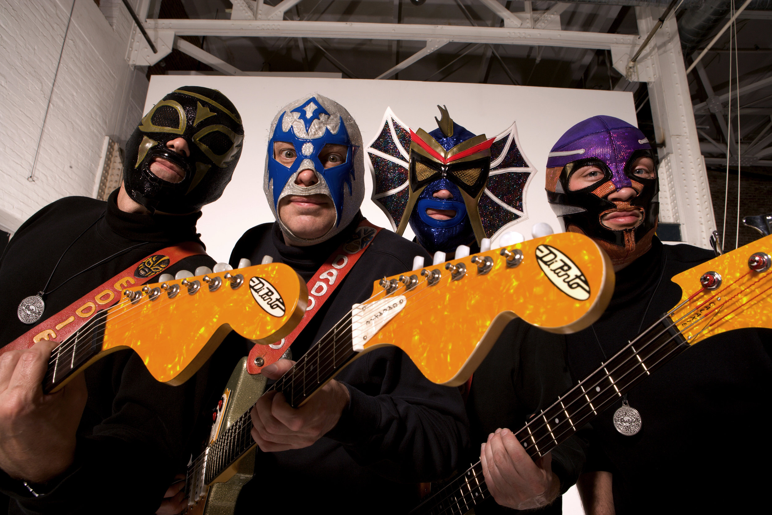South Street, Los Straitjackets, Day of the dead, festival, parade