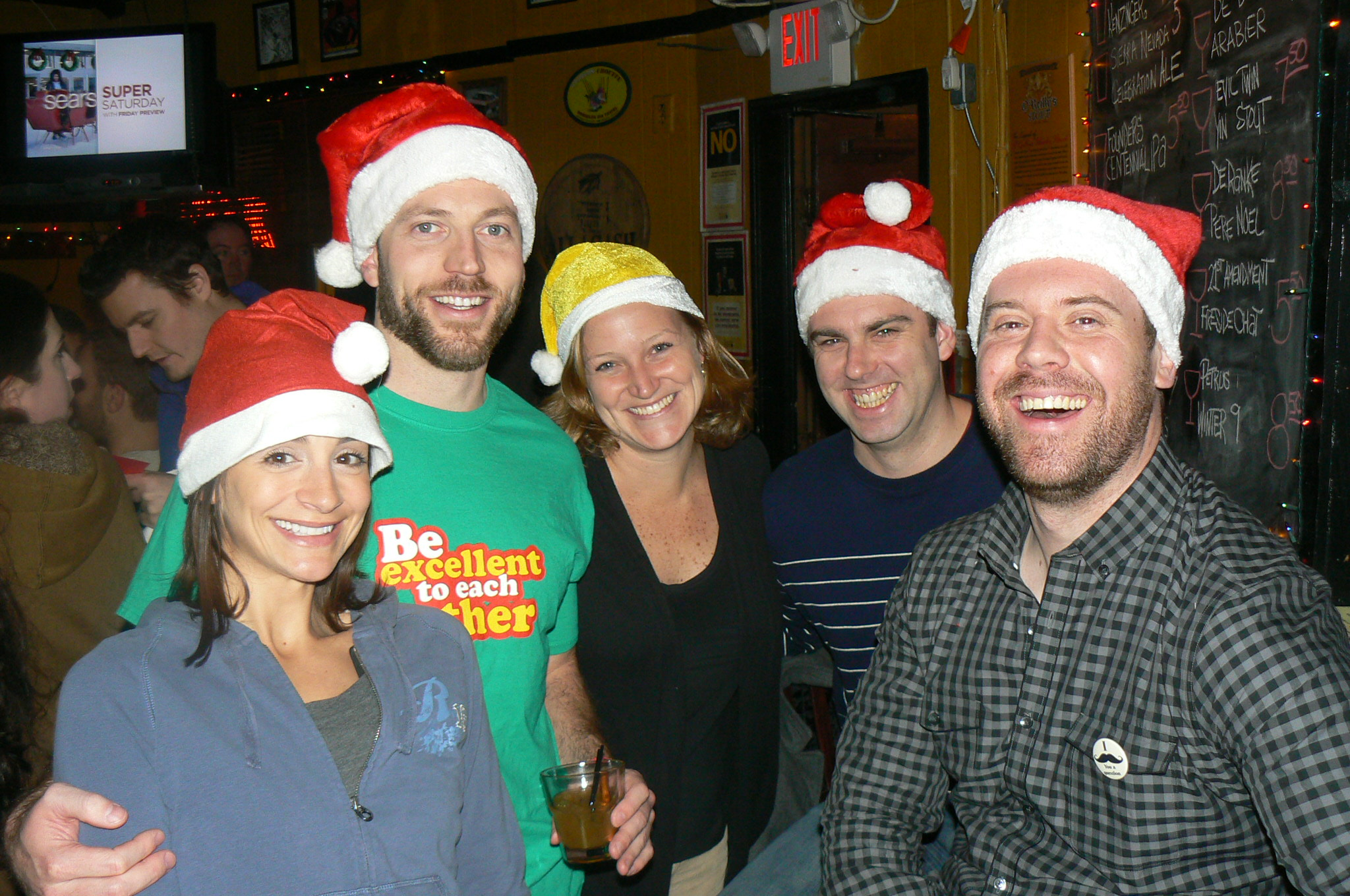 East Passyunk, Santa Bar Crawl, Holiday, Bar Crawl, Spirits and Suds, Drink