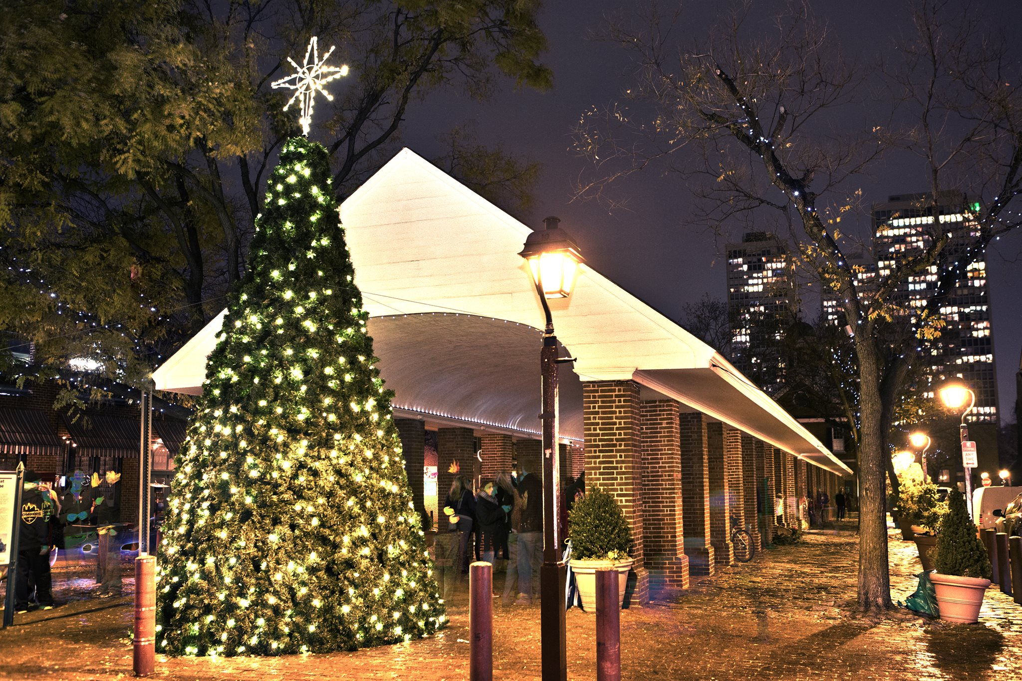 Christmas Tree Lighting, Philadelphia, City Hall, South Street, East Passyunk, Christmas Village, Love Park, Mt. Airy, Glen Foerd
