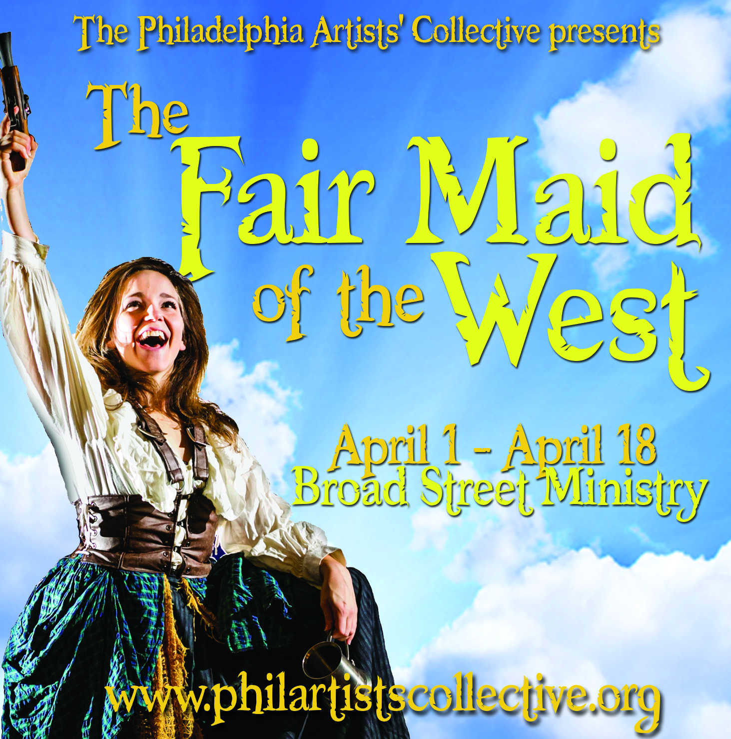 The Fair Maid of the West, Philadelphia Artists' Collective, PAC, Broad Street Ministry