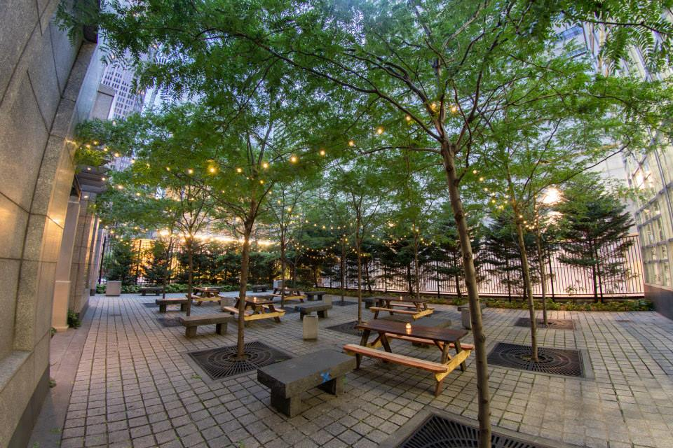 Uptown Beer Garden, Bru Craft & Wurst, BRU, Teddy Sourias, Uptown, Philadelphia new beer garden, philadelphia beer garden, pop-up garden