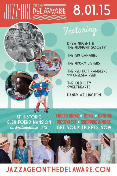 Jazz Age on the Delaware, Roaring 20s, Roaring 1920s, Party, Lawn Party, Glen Foerd Mansion, Glen Foerd on the Delaware, Aversa PR, Summer party