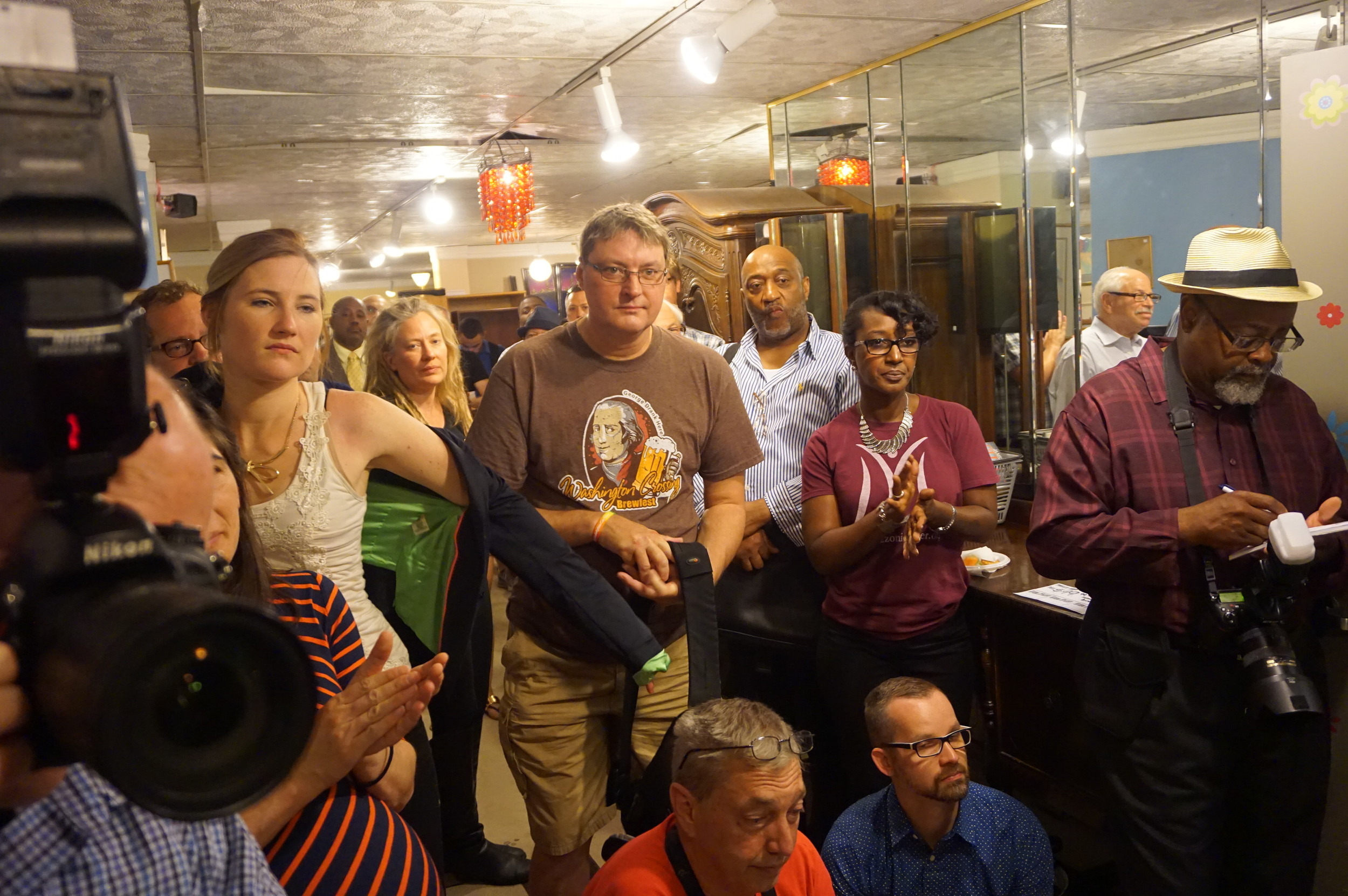 Dozens of supporters, volunteers, donors, board members turned out to celebrate.JPG