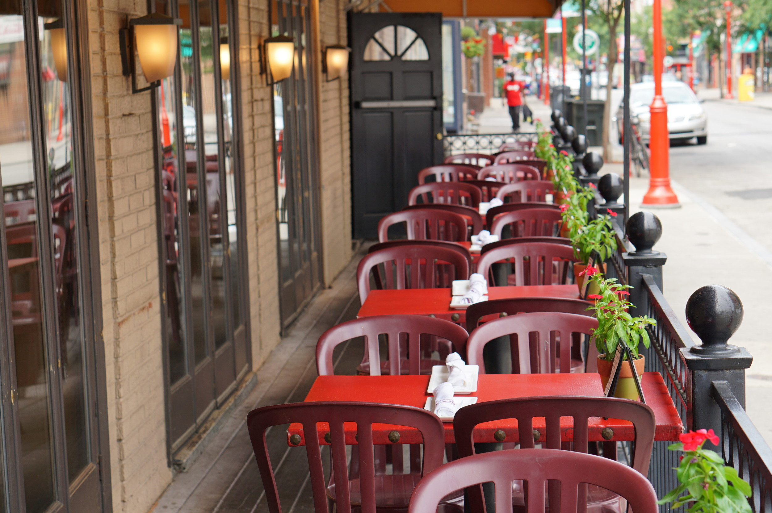 Bridget Foys, Outdoor seating, south street, Openinphilly, restaurant, philadelphia, pope francis, openinphilly, popeinphilly, aversapr
