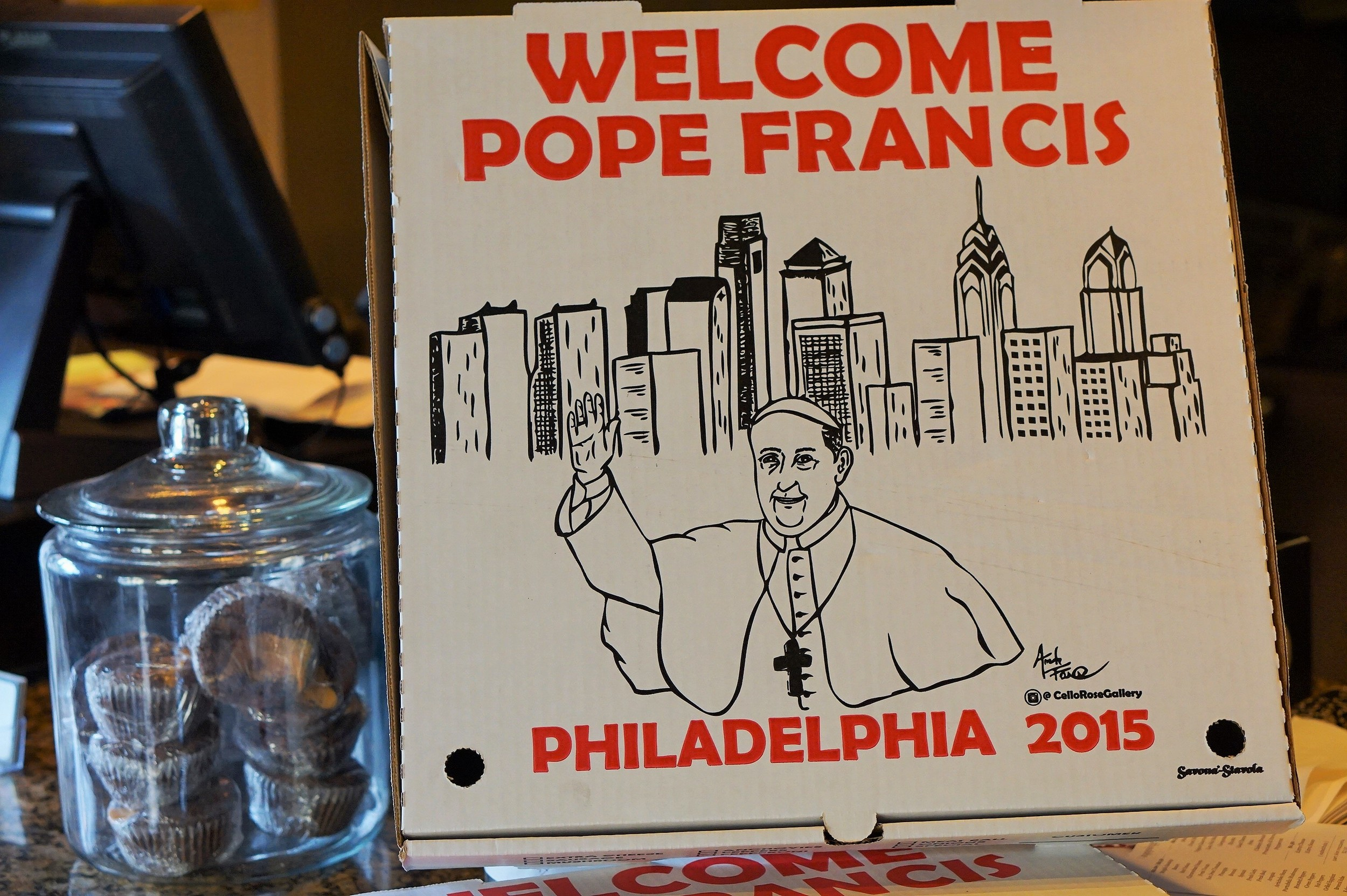 Openinphilly, restaurant, philadelphia, pope francis, openinphilly, popeinphilly, aversapr, slice, punk burger, marlo and jason dilks, east passyunk, south philly
