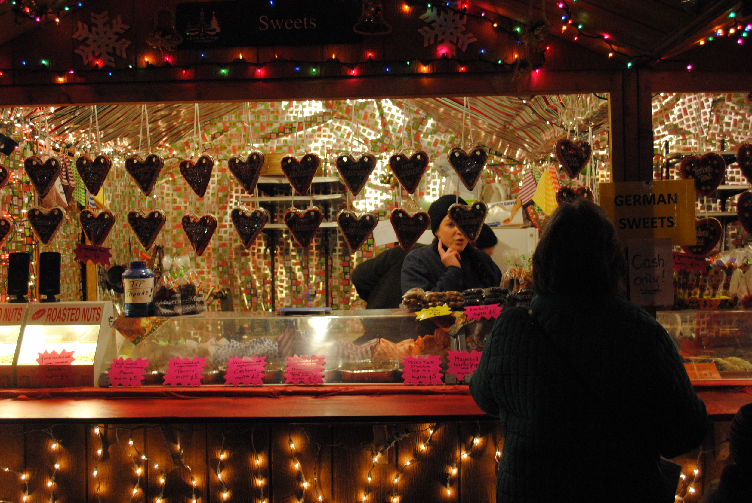 Christmas Village in Philadelphia, Love Park, Christmas Village, Christmas Market, German Market, Tourism, Holiday, Hospitality, Philly, Pennsylvania, Aversa PR