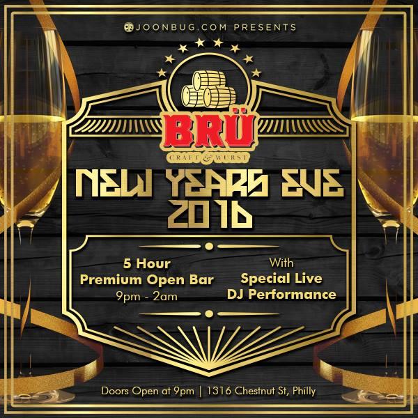 BRU, Joonbug, New Year's Eve, Midtown Village