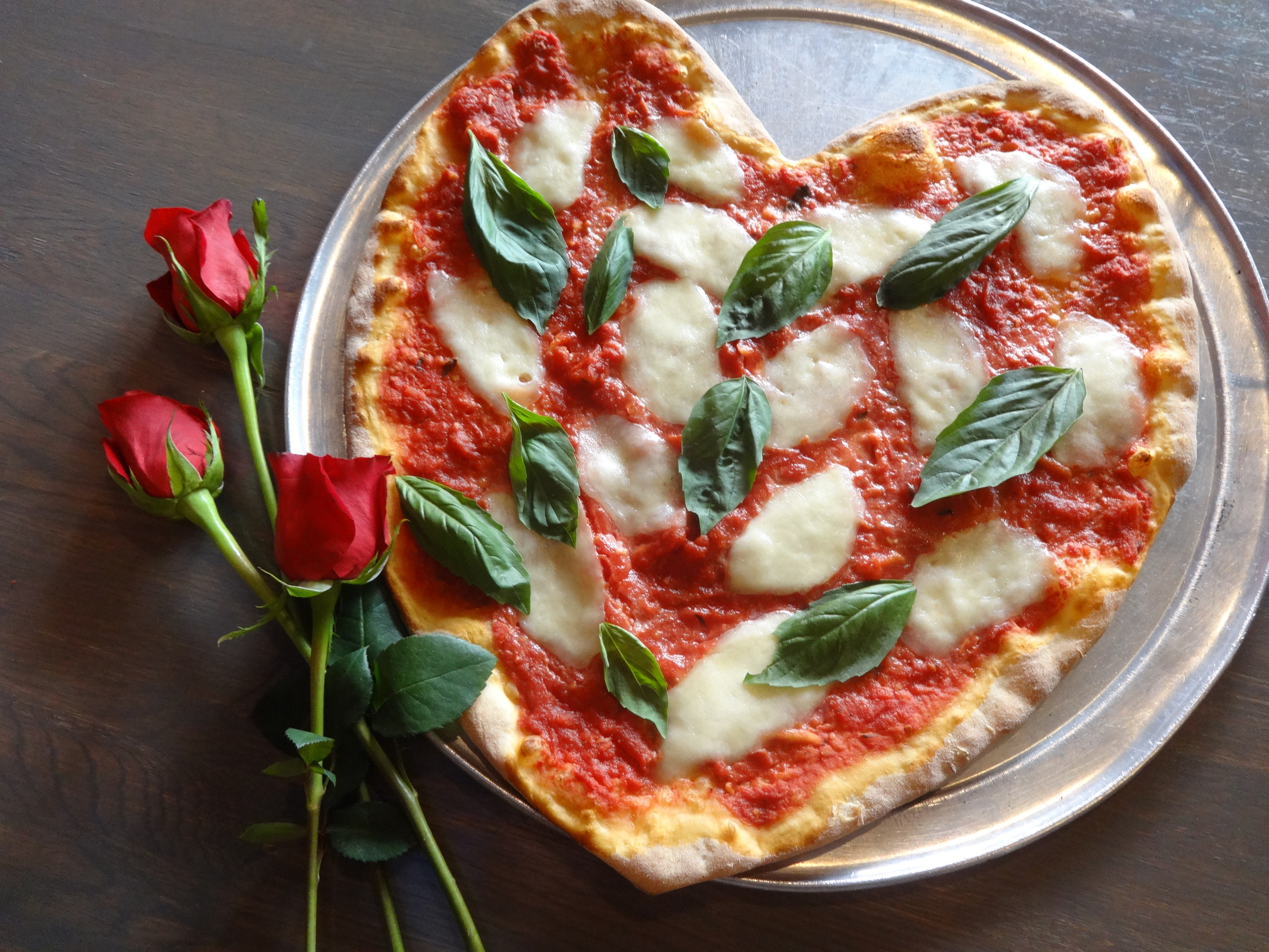 Slice, Valentine's Day, Heart Shaped Pizza, Heart Pizza, South Philadelphia, Aversa pR