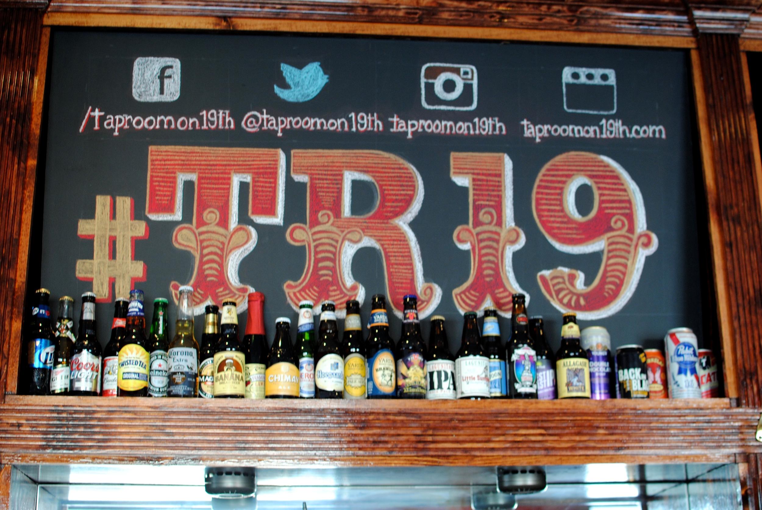 Taproom on 19th, super bowl 50, drink specials, food specials, philadelphia, bar, restaurant, sunday football